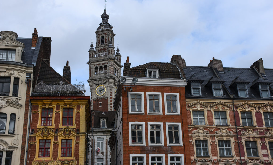 Lille, old city centre